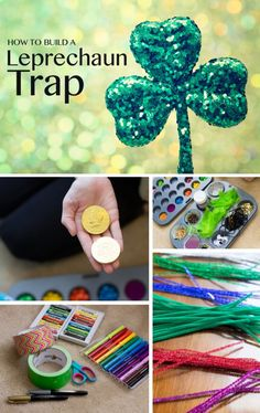 How to Build a Leprechaun Trap *Love this St. Patrick's Day Tradition