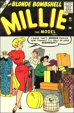 millie the model comic book