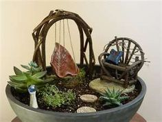 fairy garden ideas #gardenideasunique
