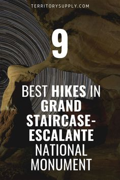 These are the best hikes in Grand Staircase-Escalante National Monument, whether you're making a dedicated trip or just visiting for a day. Capitol Reef National Park, National Parks, Paria Canyon, Hill Walking, Escalante National Monument, Natural Bridge, Grand Staircase, Best Hikes, Words Of Encouragement