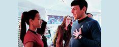 Spock and Uhura Love Star Trek Meme, Star Trek Cast, Star Trek Show, Star Wars, Zachary Levi, Zachary Quinto, Star Trek Reboot, Star Trek 2009, Video Clips