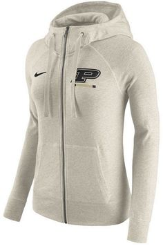 d1e90467520 Nike Women's Purdue Boilermakers Gym Vintage Full-Zip Hoodie Illinois  Fighting Illini, Tar Heels
