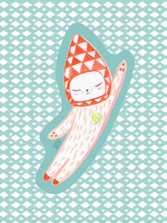My Astro Cat by izumiIdoiaZubia on Etsy