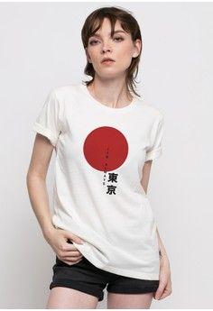 Wanita > Pakaian > Atasan > Kaos > Its Always Tokyo Tee > Monstore