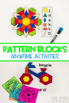 Hands-on math and literacy activities that can be used independently at any time during the day. Use Anytime Tubs for Morning Work, Center Stations, or Fast Finishers.