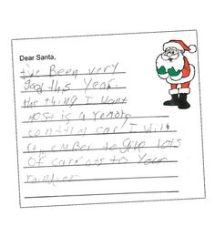 Letters to santa santa may need to make his way to a pet store letters to santa bribe number 2 classic bait for santas reindeer spiritdancerdesigns Image collections