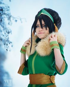 Winter Time - Toph Bei Fong by TophWei.deviantart.com on @deviantART