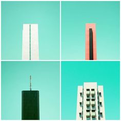 minimal colorful architectures photo