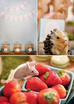 Woodland Creatures & Little Red Riding Hood Birthday Party // Hostess with the Mostess®