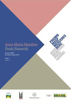 Cartaz Prêmio MASP 2012  | Coordenação editorial: .comunique | Design: Teo Menna