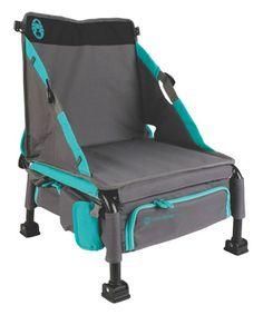 Coleman Treklite Coolerpack Chair [15'' W x 18'' H x 11'' D] Kick back at the campsite and backyard gatherings in this collapsible, portable chair that doubles as a backpack cooler $39.99 [Photo] http://mcdn.zulilyinc.com/images/cache/product//119765/zu24971447_alt_1_tm1427227941.jpg