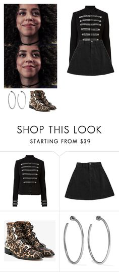 """Valerie Brown - Riverdale"" by shadyannon ❤ liked on Polyvore featuring Witchery, Givenchy and Jennifer Fisher"