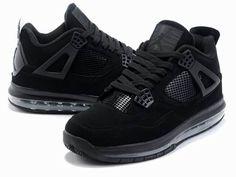 cheap for discount 5c84c cf811 Air Jordan 4 Mix Max Men Black