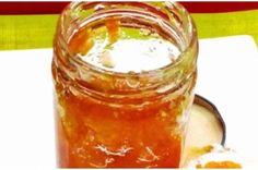 Μαρμελάδα Καρότο Μήλο Πορτοκάλι: Το Φουλ Της Βιταμίνης Preserving Food, Yams, Creative Food, Preserves, Vegan Vegetarian, Sweet Recipes, Food To Make, Peanut Butter, Food And Drink