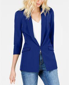 INC Menswear Blazer, Created for Macy's Fifties Fashion, Fashion Over 50, Cheap Fashion, Women's Fashion, Blazer Outfits Casual, Mens Fashion Blazer, Blazer Jackets For Women, Menswear, Clothes For Women