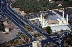 A beautiful aerial view of Masjid Quba, Medina Saudi Arabia.  #Mosque #Madinah #Madina #Ziarah #Masjid #MasjidAlQuba #travel #Hajj #Ummrah #Umrah #Hajj2017 #Umrah2017 #AprilUmrah #Alhaq #AlhaqTravel #aerialview #Allah #Mohammad #Muhammad