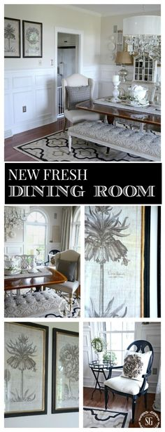 FRESH NEW TAKE ON AN OLD  CLASSIC Adding neutral botanicals and other fresh ideas