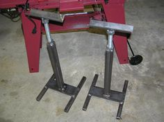 Another reminder to self: these could be handy in the shed when cutting long stuff on my bench, and on the mitre saw.  Easy Stand Project - WeldingWeb™ - Welding forum for pros and enthusiasts