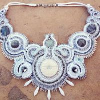 The Moonlight - The Snow Queen necklace by MagiaSoutache
