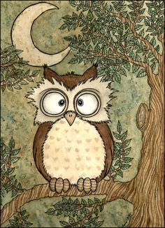 owl by Ines Peace