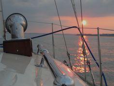 Von Friedrichshafen Richtung Immenstaad /sunset on Lake Constance
