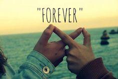 La verdadera amistad, es infinita