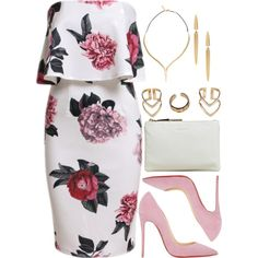 A fashion look from February 2016 featuring Christian Louboutin pumps, Jil Sander clutches and Boohoo rings. Browse and shop related looks.