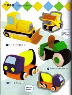 Ebook sewing cute felt toys PDF f036
