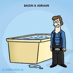 Evert Kwok - Bassin en Adriaan