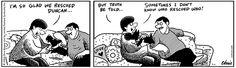 Save a life, adopt a pet! | Read Raising Duncan #comics @ http://www.gocomics.com/raising-duncan/2015/03/17?utm_source=pinterest&utm_medium=socialmarketing&utm_campaign=social-pin | #GoComics #webcomic