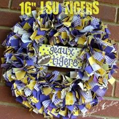 Even though I think LSU may be doomed this year.. I think I need to make one of these!!!! LOVE IT!
