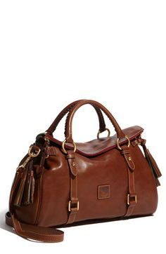 Dooney & Bourke 'Florentine' Vachetta Leather Satchel, buy at dooney and bourke .com on sale light brown
