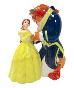 Take a look at this Westland Giftware Beauty & the Beast Salt & Pepper Shaker Set by Small Chefs Collection on #zulily today!