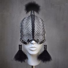 House of Malakai-Cocoon Headdress Couture Collection : Ceiba SF Street Goth, Photo Instagram, Urban Outfits, Couture Collection, Headgear, Headdress, Costume Design, Urban Fashion, Wearable Art