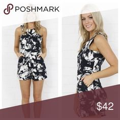 "Classic Romper (Hot Seller) CLASSIC ROMPER NEW Retail Item (NWT)  Material: 60% Polyester / 35% Cotton / 5% Spandex  Measurements: Size Small Chest: 16"" Length: 32"" Waist: 14""  Bundle & Save 10% 