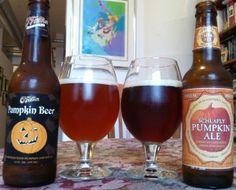 O'Fallon & Schlafly Pumpkin beer.  Craft beer in St. Louis- fall seasonal