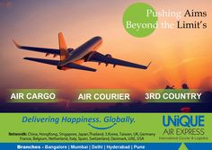 Pushing Your Aims, Beyond the Limits.  Fill Free to Contact at info@uniqueairexpress.com for a long lasting professional association. #Import #Export #Courier #Express #Cargo #Frieght #Delivery #Air #Sea