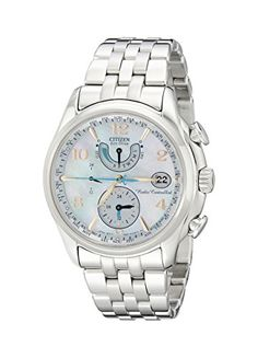 "Citizen Women's FC0000-59D ""World Time A-T"" Stainless Steel Eco-Drive Watch - http://www.darrenblogs.com/2017/02/citizen-womens-fc0000-59d-world-time-a-t-stainless-steel-eco-drive-watch/"