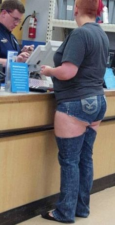 Jean Leg Warmers at Walmart - Funny Pictures at Walmart                                                                                                                                                                                 More