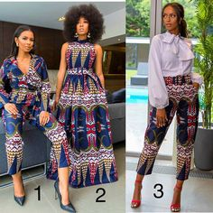 Couples African Outfits, African Wear Dresses, Latest African Fashion Dresses, African Attire, African Print Pants, African Shirts, African Inspired Fashion, African Print Fashion, African Design