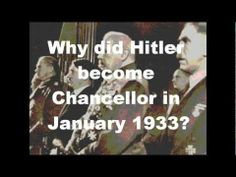 GCSE History: How did Hitler become chancellor in Dancing On The Edge, I Got This, Wish, The Unit, Relationship, History, Quotes, Sadness, Youtube