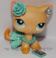 Littlest Pet Shop LPS clothes accessories CUSTOM SKIRT BOW *CAT/DOG NOT INCLUDED #CUSTOMMADEBY4THELITTLESTPETS