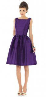 Alfred Sung Style D518 Bridesmaid Dress in Majestic