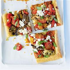 Antipasti Tart. This is like having an antipasto pizzette, full of flavor, and so delicious!