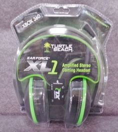 Description: Turtle Beach Earforce XL1 For Xbox 360 Gaming Headset and HDMI Pro Ex Cable/  Item ID: 106 TARGET
