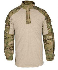 Propper Flame Resistant (FR) Combat Shirt - Multicam - Tencate Defender M with Lenzing FR Combat Shirt, Combat Gear, Military Gear, Military Equipment, Tactical Equipment, Tactical Gear, Camouflage, Bug Out Gear, Survival Clothing