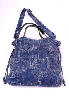 JEANS   Handmade bag by Mishonki
