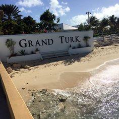 entrance sign, Grand Turk Cruise Center, Grand Turk Island, Turks & Caicos