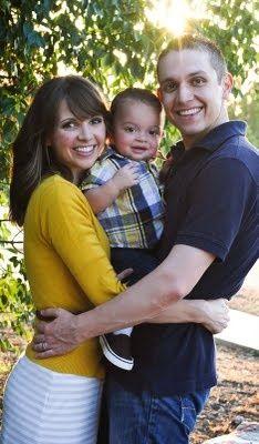 Cute family of 3 kid sandwich photo