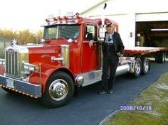 Home built 5/8 scale Peterbilt 18-Wheeler